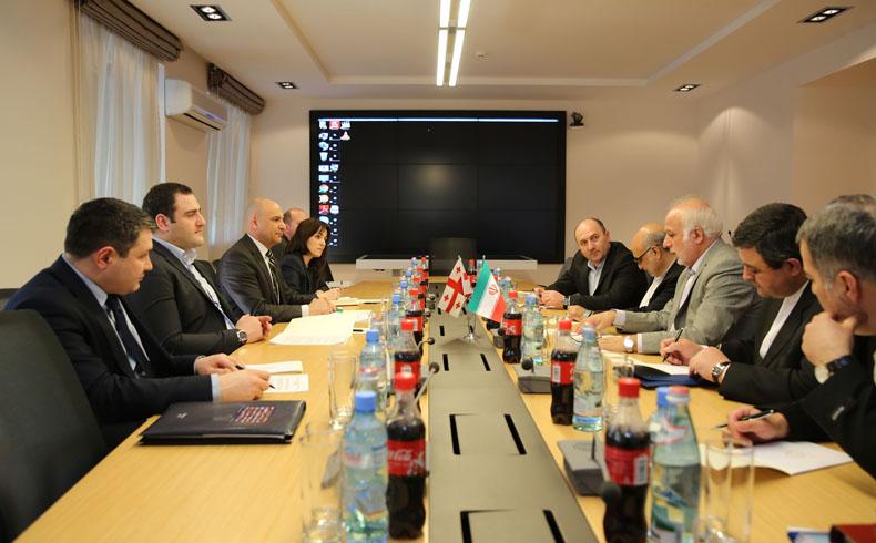 El viceministro de Relaciones Exteriores iraní visita Tiflís