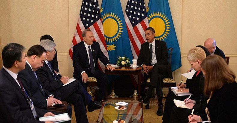 Las conversaciones sobre el comercio entre EE.UU. y Kazajstán