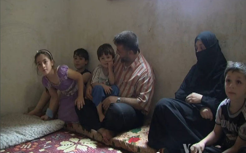 El número de refugiados sirios en el Líbano supera el millón