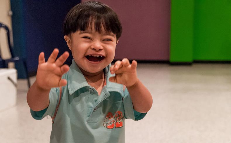 La alegría de vivir con un hijo con el síndrome de Down