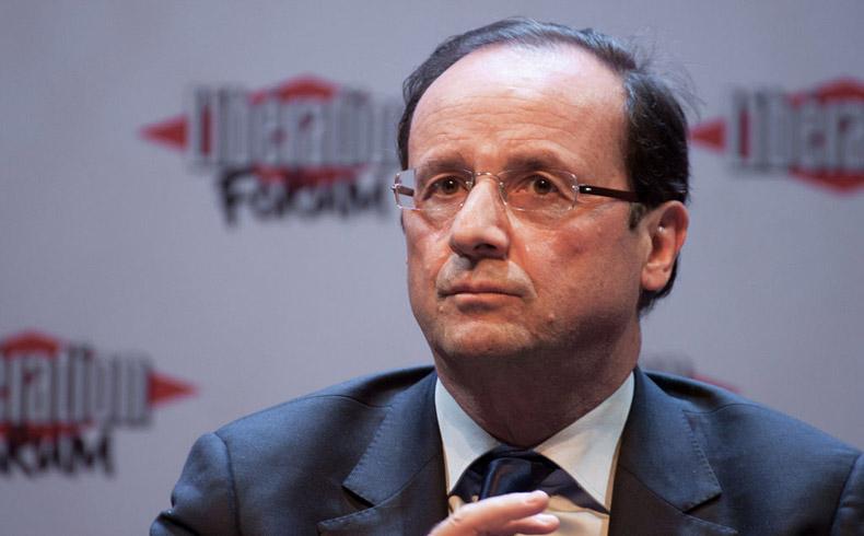 El presidente Hollande de Francia reforzará la operación militar en Irak