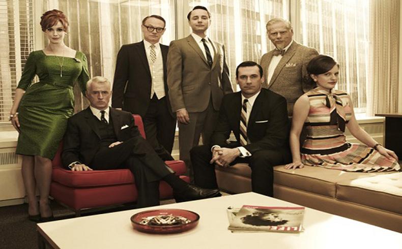"""Mad Men; hipersexualizada y violenta serie televisiva en torno a las gencias de publicidad y su negocio de """"sádicos masoquistas"""""""