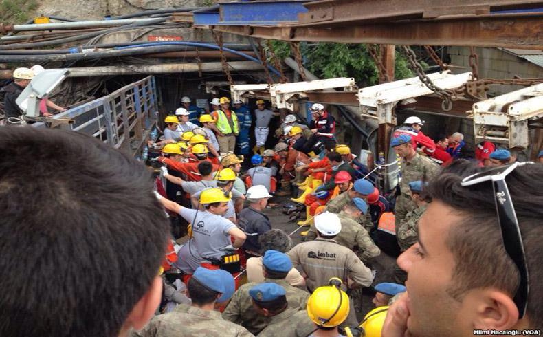 Manifestaciones: marcan el letal accidente minero