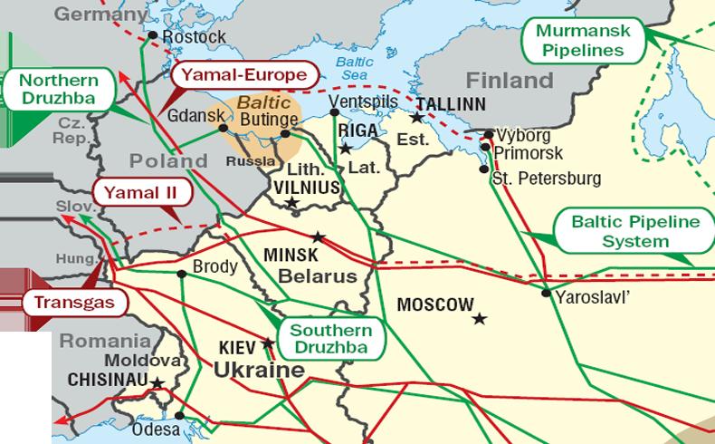 La Unión Europea insta a Rusia a mantener el suministro de gas
