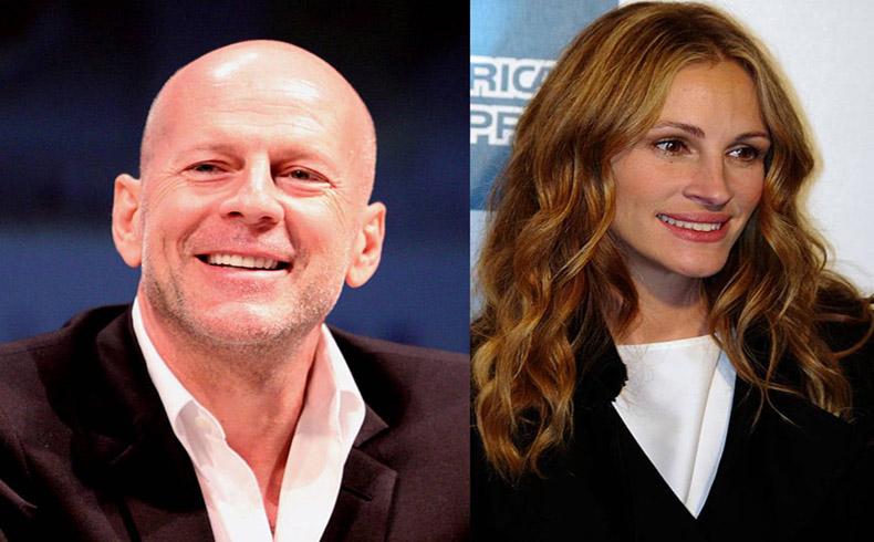 Bruce Willis y Julia Roberts aceptan la oferta de Merkel para promocionar las elecciones europeas