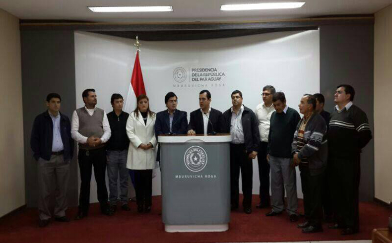 Paraguay: Rodolfo Friedmann Sigue impulsando obras publicas en Guaira
