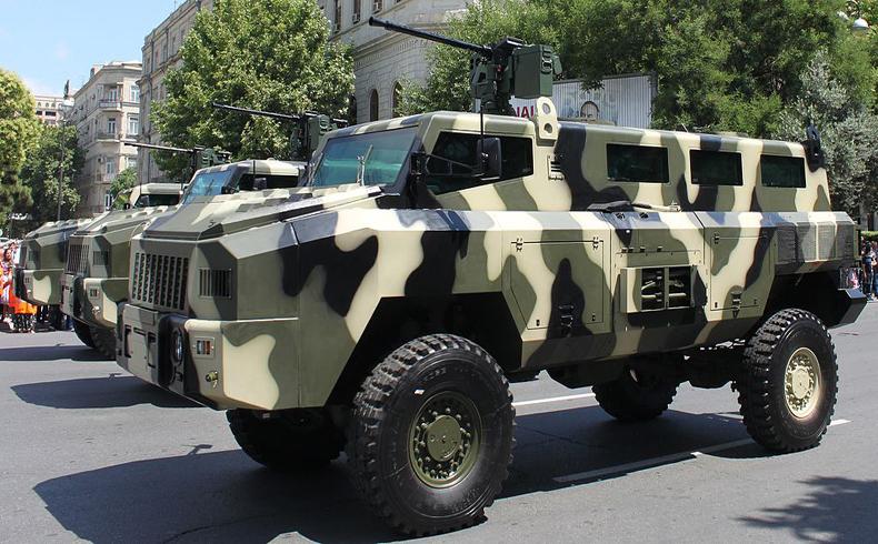 Azerbaiyán producirá 60 vehículos a prueba de minas en el 2014