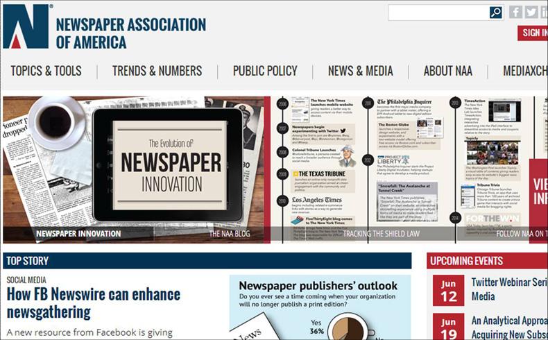 Crisis publicitaria: la prensa norteamericana busca ingresos alternativos para sobrevivir