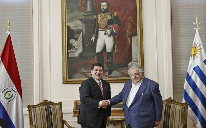 Paraguay y Uruguay: El Presidente Mujica fortalece la cooperación bilateral