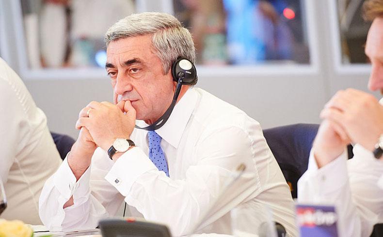 La presidente argentina faltó al encuentro con su contraparte armenia