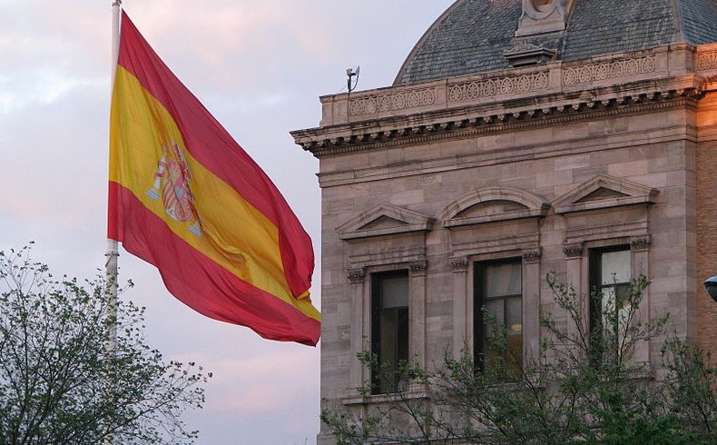 Spain's national flag