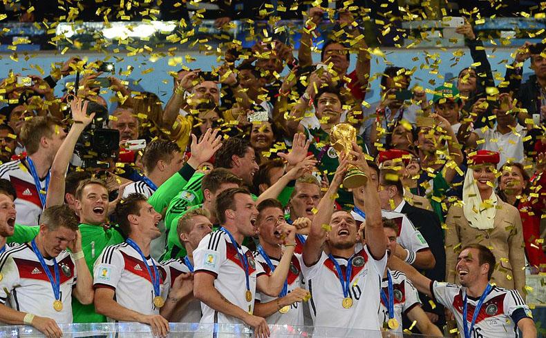 Alemania le ganó a Argentina 1-0 y pasó a la historia con una Copa Mundial que ganó en América