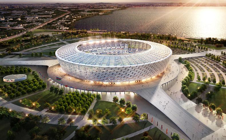 Los Juegos Europeos Bakú 2015 revelan la colorida imagen de una nueva marca