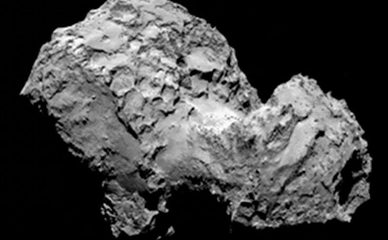 Una nave espacial europea alcanza un cometa tras una persecución de diez años