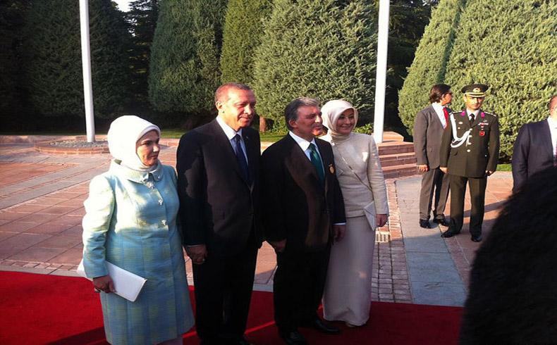 Erdogan prestó juramento como presidente turco