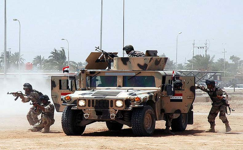 EE.UU. apoyo para el nuevo ejército de Irak, el 6º Ejército en 2009
