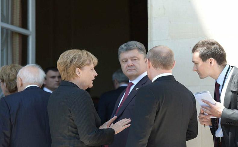 Se reunen en Minsk Putin y Poroshenko con la mediación de UE