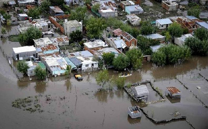 Provincia de Buenos Aires en situación calamitosa: 12 millones de hectáreas bajo agua