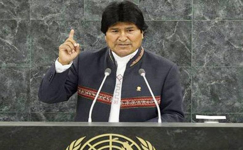 Morales habla en conferencia de pueblos indígenas en Nueva York auspiciada por la ONU