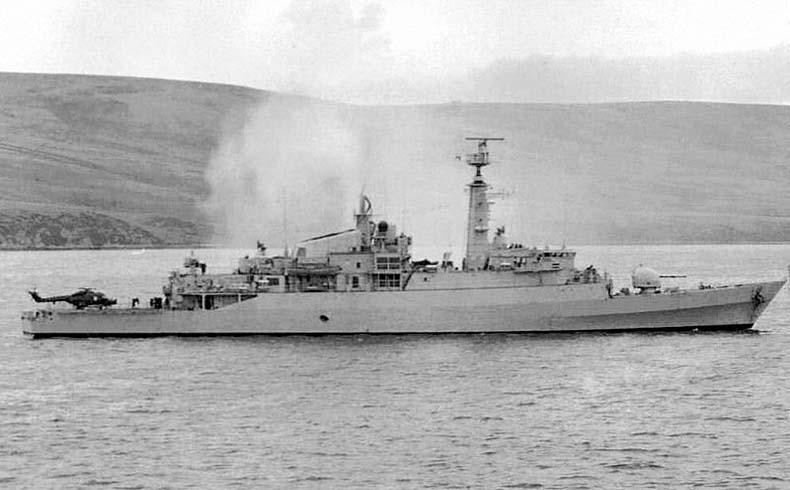 HMS Antelope 1982