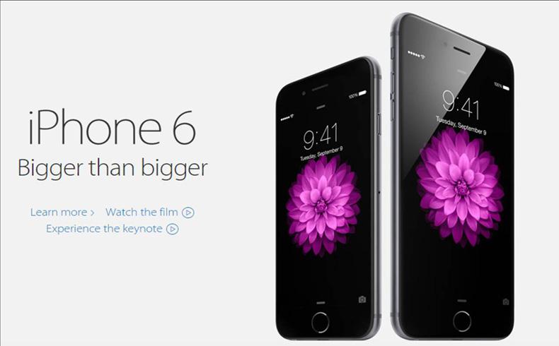 Apple presenta iPhones más grandes y un nuevo reloj