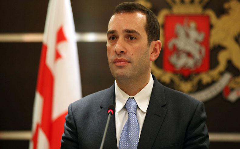 El ministro de Defensa georgiano se encuentra con el Secretario del ejército estadounidense