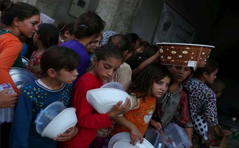 La operación de ayuda a Irak entra en una nueva fase