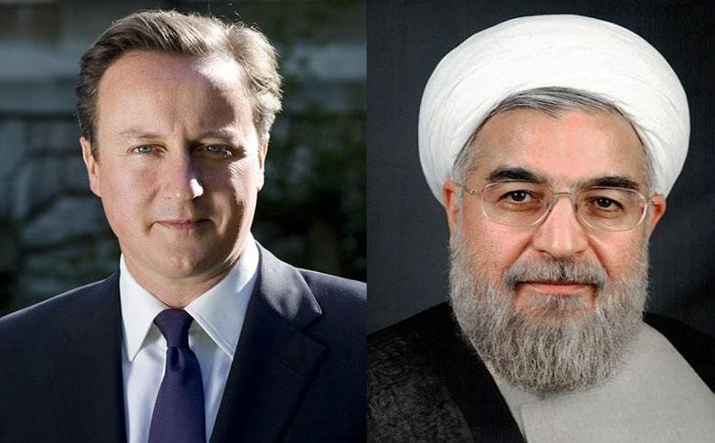 El primer ministro británico y el presidente iraní se reúnen por primera vez en 35 años