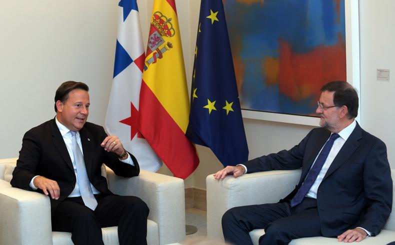 Panamá: Presidente Juan Carlos Varela fomenta la cooperación con España