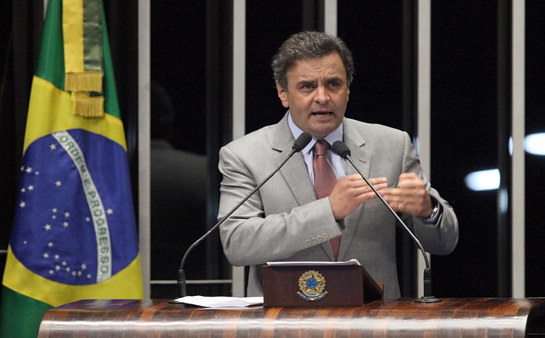 Sondeos prevén segunda vuelta electoral en Brasil entre Neves y Rousseff