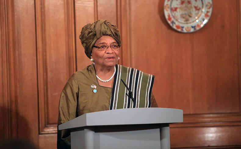 La presidente liberiana pide apoyo global para luchar contra el Ébola