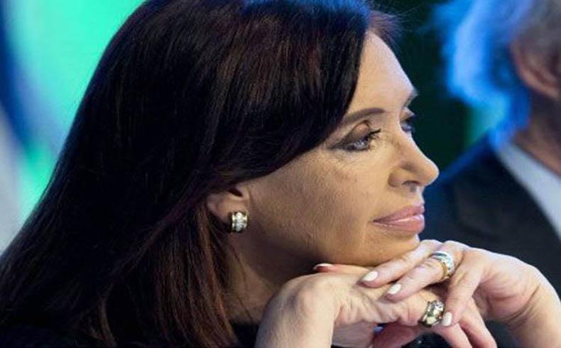 Cristina Fernández en reposo de 48 horas por un cuadro de faringitis