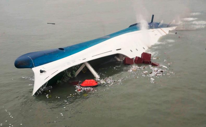 Los fiscales surcoreanos procuran la pena de muerte para el capitán del transbordador hundido