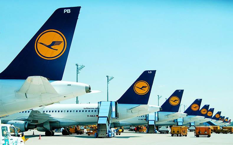Lufthansa va a la huelga y se cancelan casi 1.500 vuelos