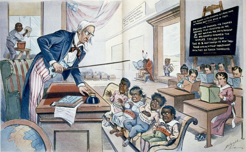 La discriminación racial en EEUU