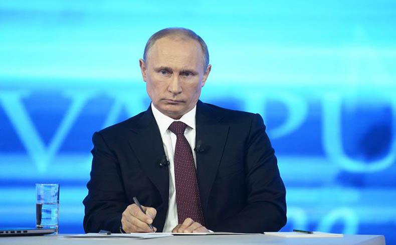 Putin espolea a todas las partes para resolver pacíficamente la crisis de Ucrania