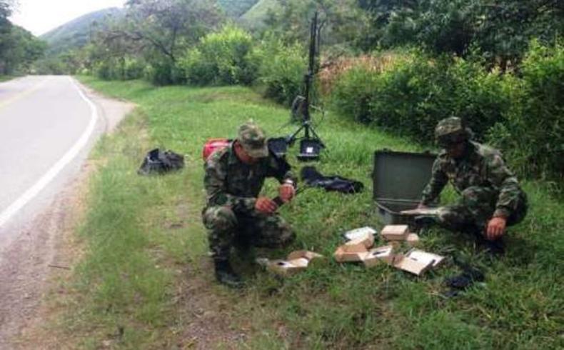 Ejército Nacional de Colombia frustra intento de las FARC de destruir un importante puente