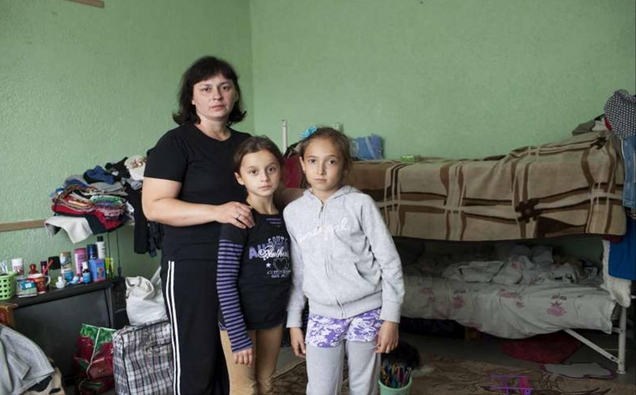 Empeora la situación de desplazamiento en Ucrania