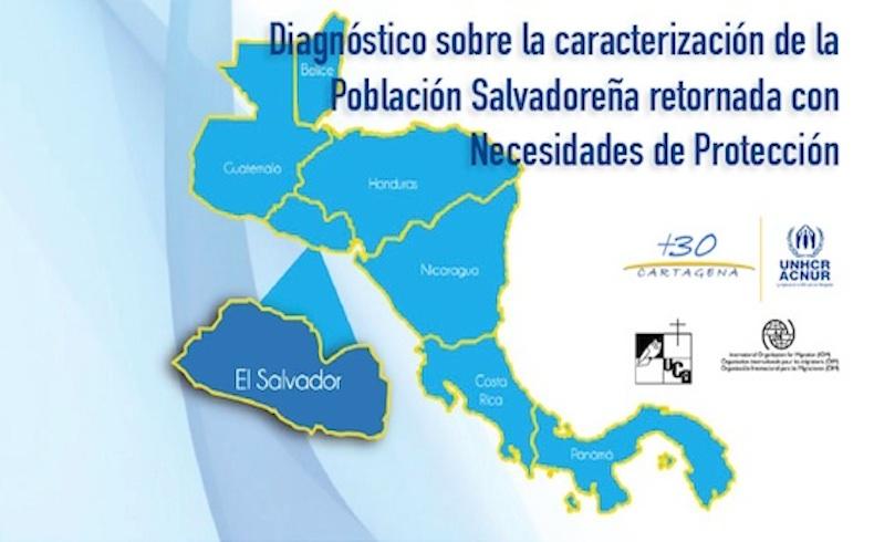 ACNUR presenta un estudio sobre la población salvadoreña retornada