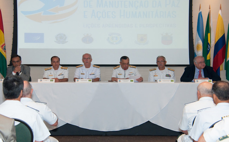 Seminario analiza la participación de las Fuerzas Armadas de Brasil en las misiones de paz de la ONU