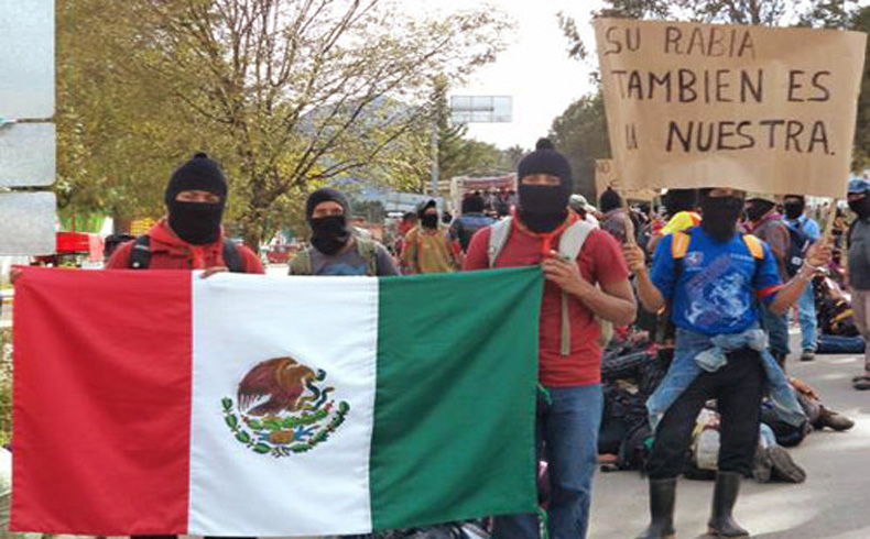 """México: """"Vivos se los llevaron, vivos los queremos"""""""
