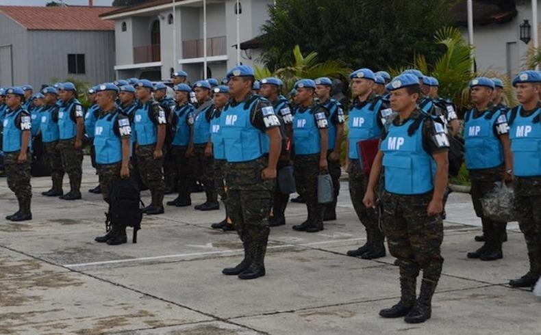 La Policía Militar guatemalteca llega a Haití para participar en MINUSTAH