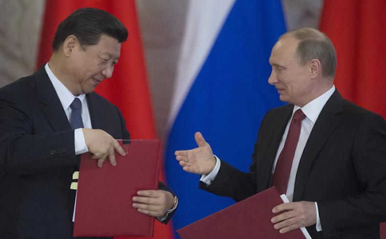 Presidentes chino y ruso felicitan a foro entre partidos de China y Rusia