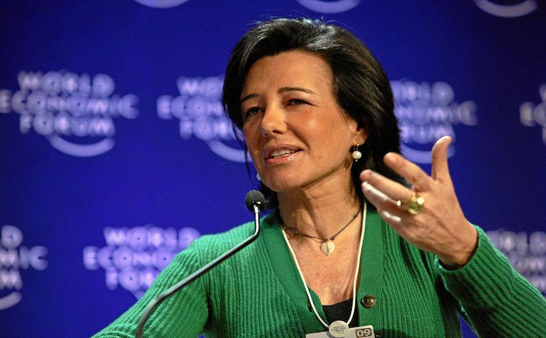 Ana Botín ofrece recursos para infraestructura al Brasil