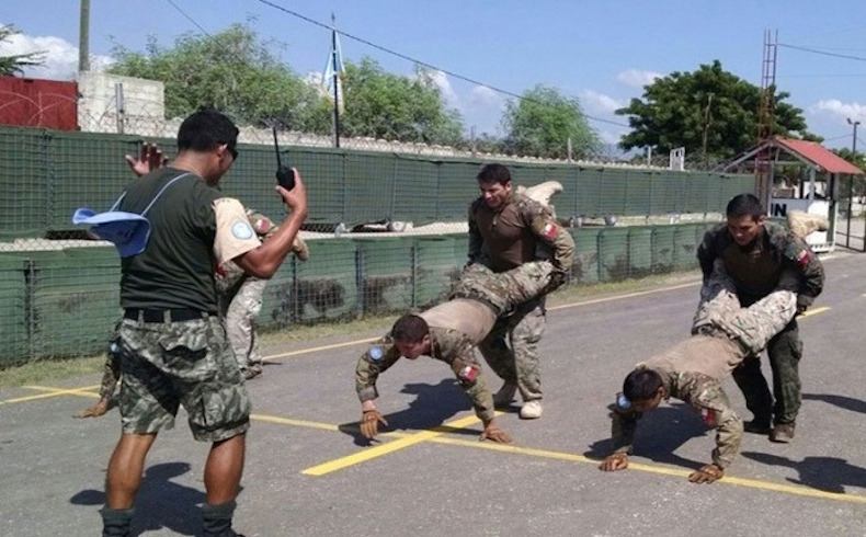 El Batallón Chile de MINUSTAH gana el Desafío Pacificador en Haití