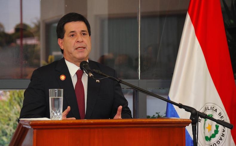 Paraguay: Gobierno del Presidente Horacio Cartes aumenta las inversiones publicas