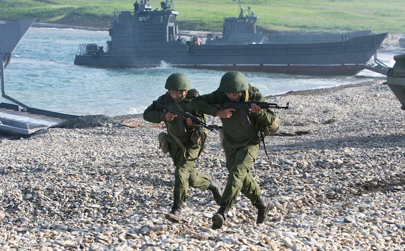 La situación en la frontera ucraniano-rusa