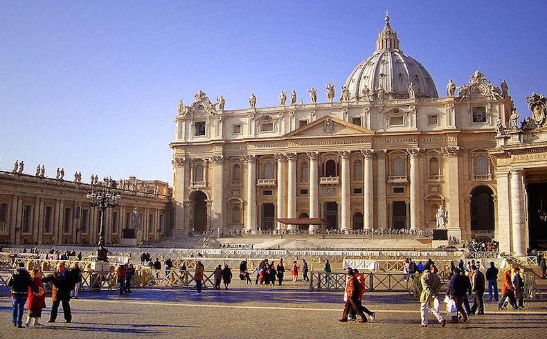 Basílica de San Pedro, en el Vaticano