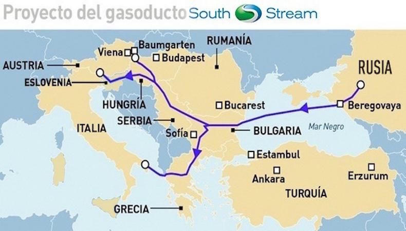 ¿Por qué suspendió Putin el proyecto de gasoducto South Stream?