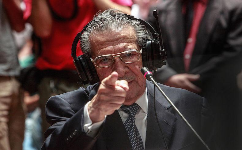Guatemala: Tribunal rechaza excusa médica de Ríos Montt en juicio por genocidio